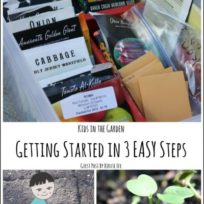 Begin Gardening with Kids