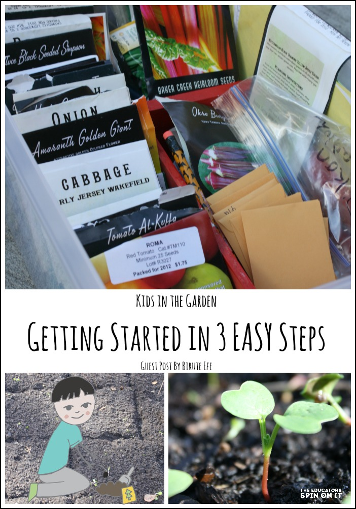 Start gardening with kids in 3 easy steps. Kids in the Garden