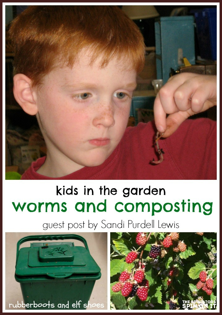 learning about worms and composting