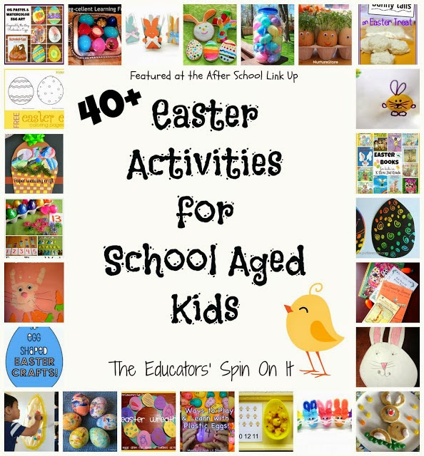 Easter Activities for School Ages from The Educators' Spin On It