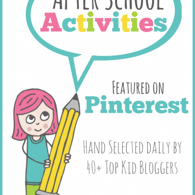 School Age Activities for Parents on Pinterest {After School Linky Party Week 16}