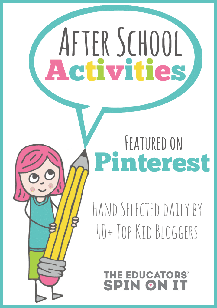 School Age Activities for Parents on Pinterest {After School Linky