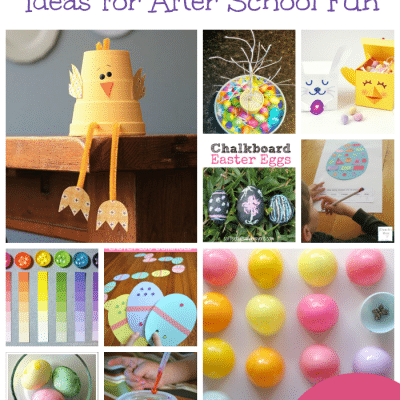 Easter Activities for School Ages