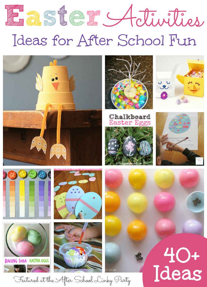 40+ Easter Activities for School Ages featured The Educators' Spin On It