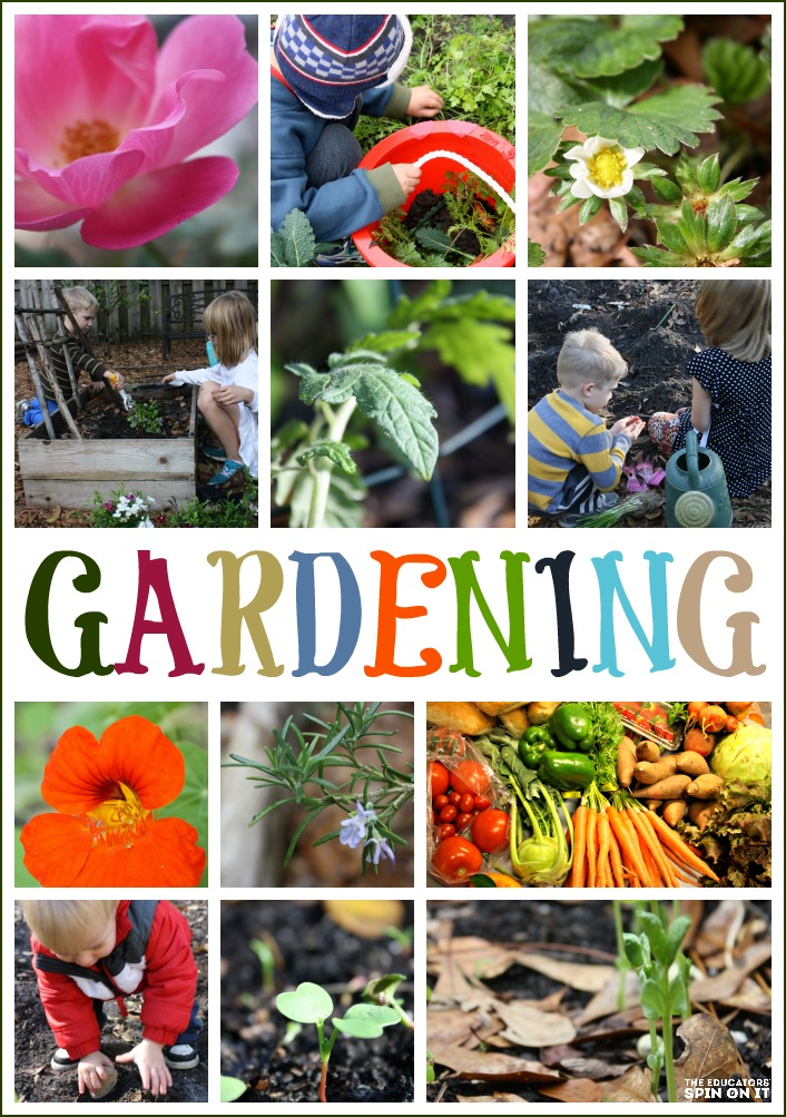 Gardening Activities with Kids from the Educators' Spin On It