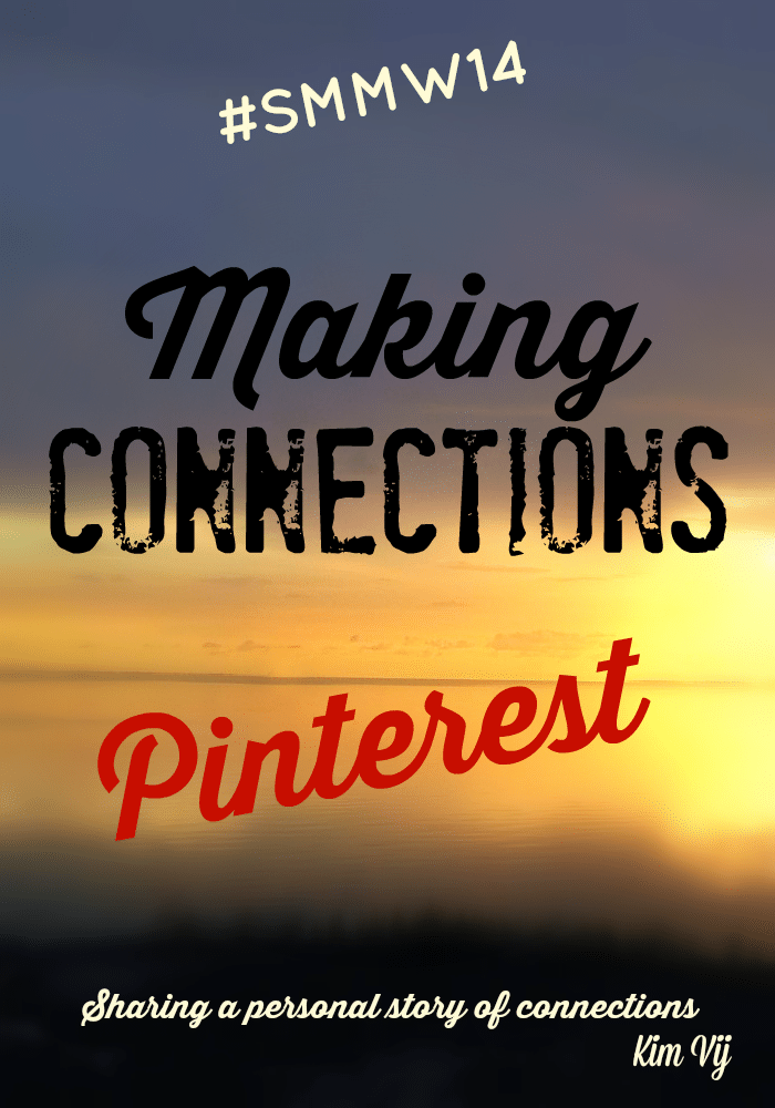 Making Connections with Pinterest at #SMMW14 with Pinterest Consultants