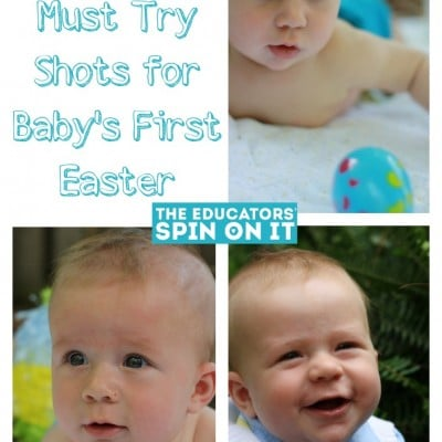5 Photographs for Baby's First Easter