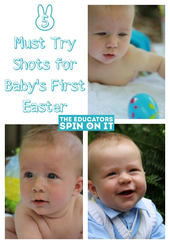 Five must try photo shots for Baby's First Easter