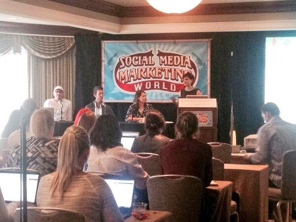 Pinterest Panel at @SMMW14 hosted by Pinterest Consultant Cynthia Sanchez