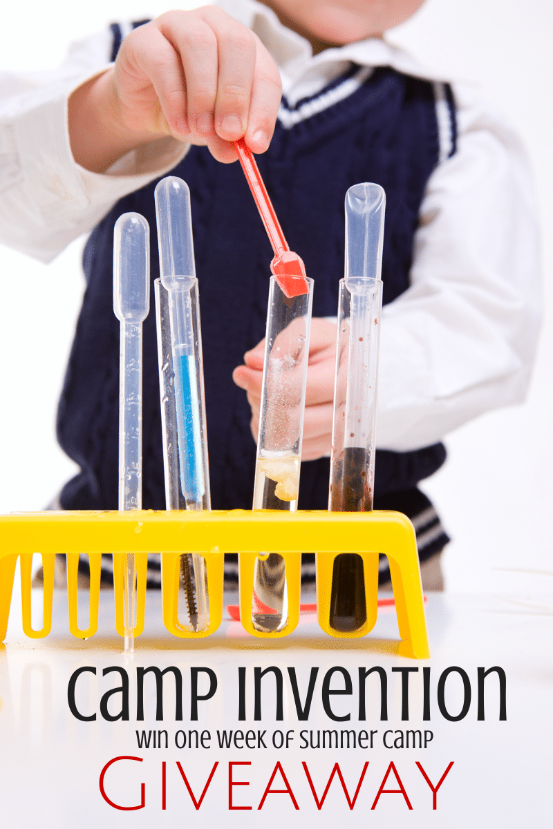 Enter to Win a Free week of Summer Camp at Camp Invention ends 5/17/14