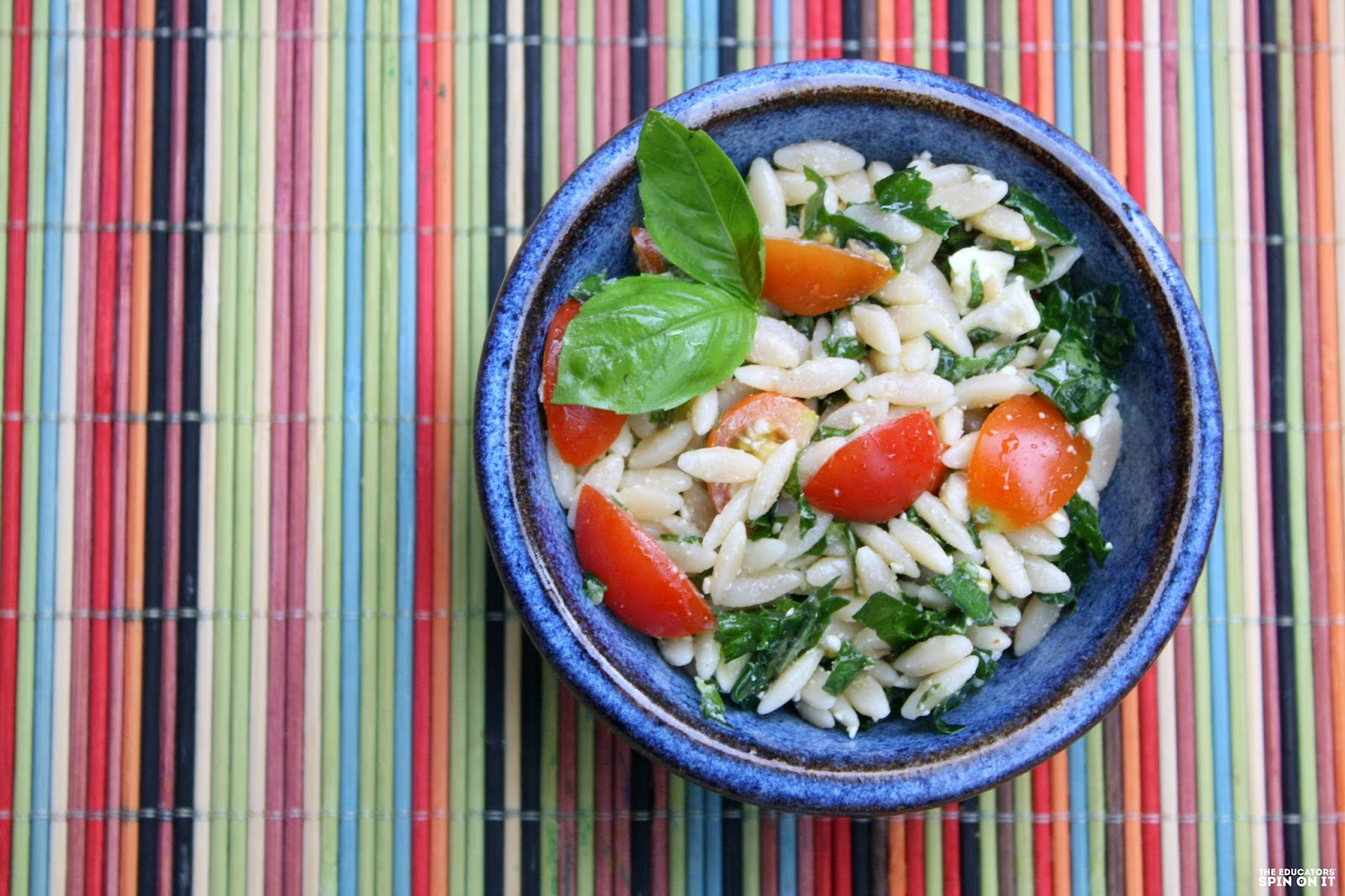Kale, orzo, and Feta Summer Salad