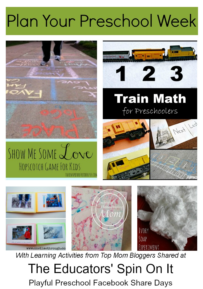 Preschool reading activities and more, a great collection of resources from top mom bloggers
