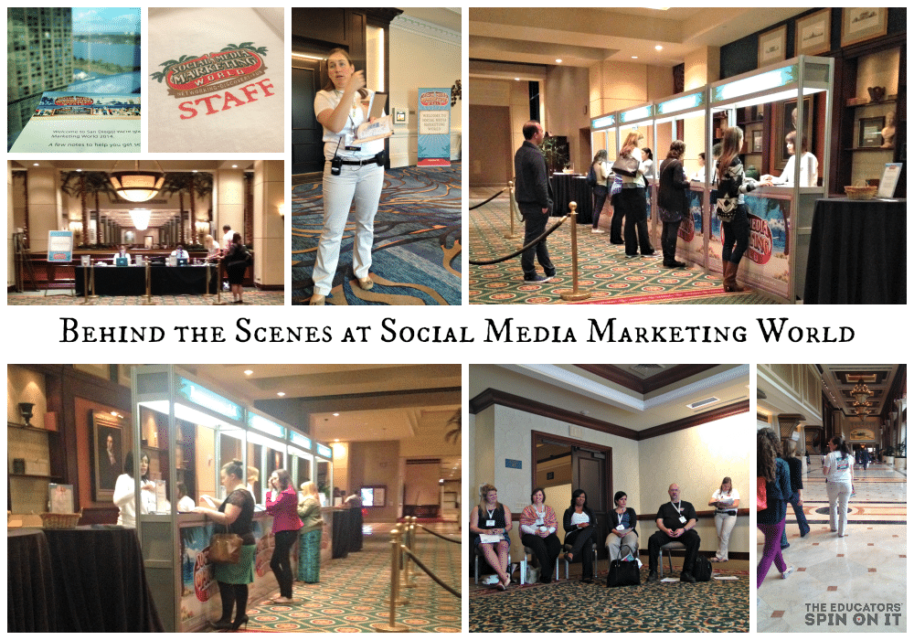Social Media Marking World Behind the Scenes #SMMW14
