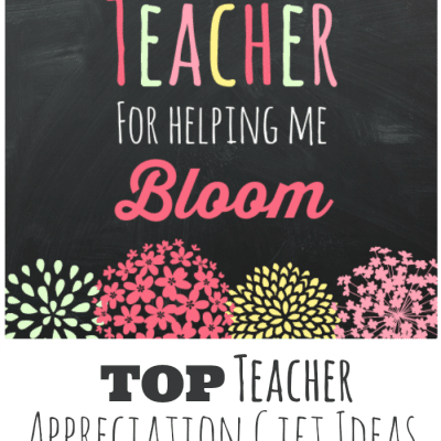 Teacher Gift Idea and Printable