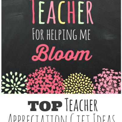 Teacher Gift Idea and Printable