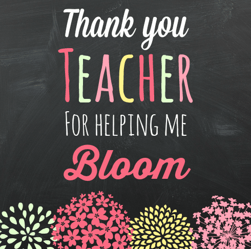 Teacher Appreciation Gift Idea and Printable from The Educators' Spin On It