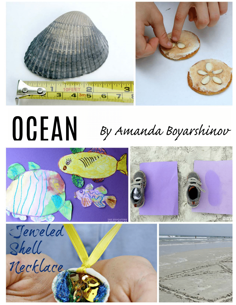 Ocean unit of the Ultimate Backyard Summer Camp E-book