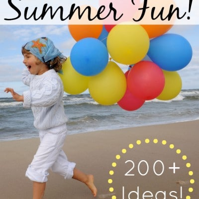 The Ultimate List of Summer Activities