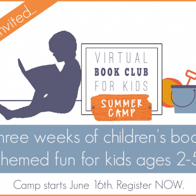 You're invited to join the Virtual Book Club for Kids Summer Camp