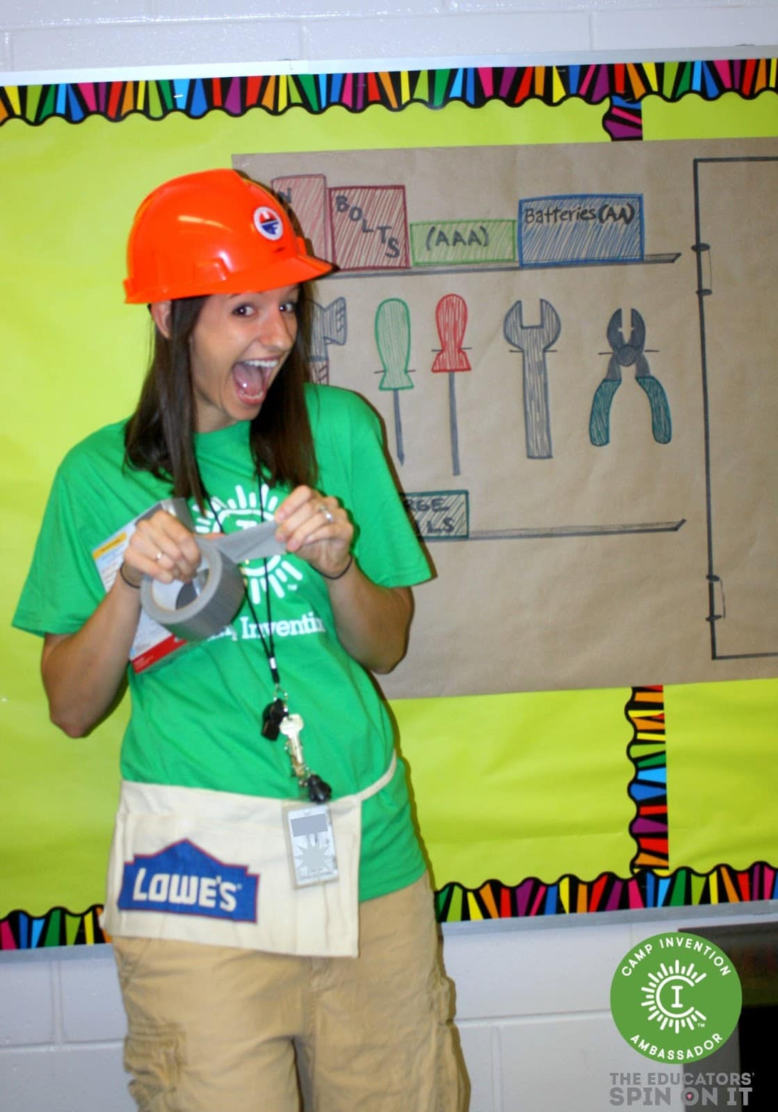 Camp Invention Educator ready to inspire a new generation of inventors