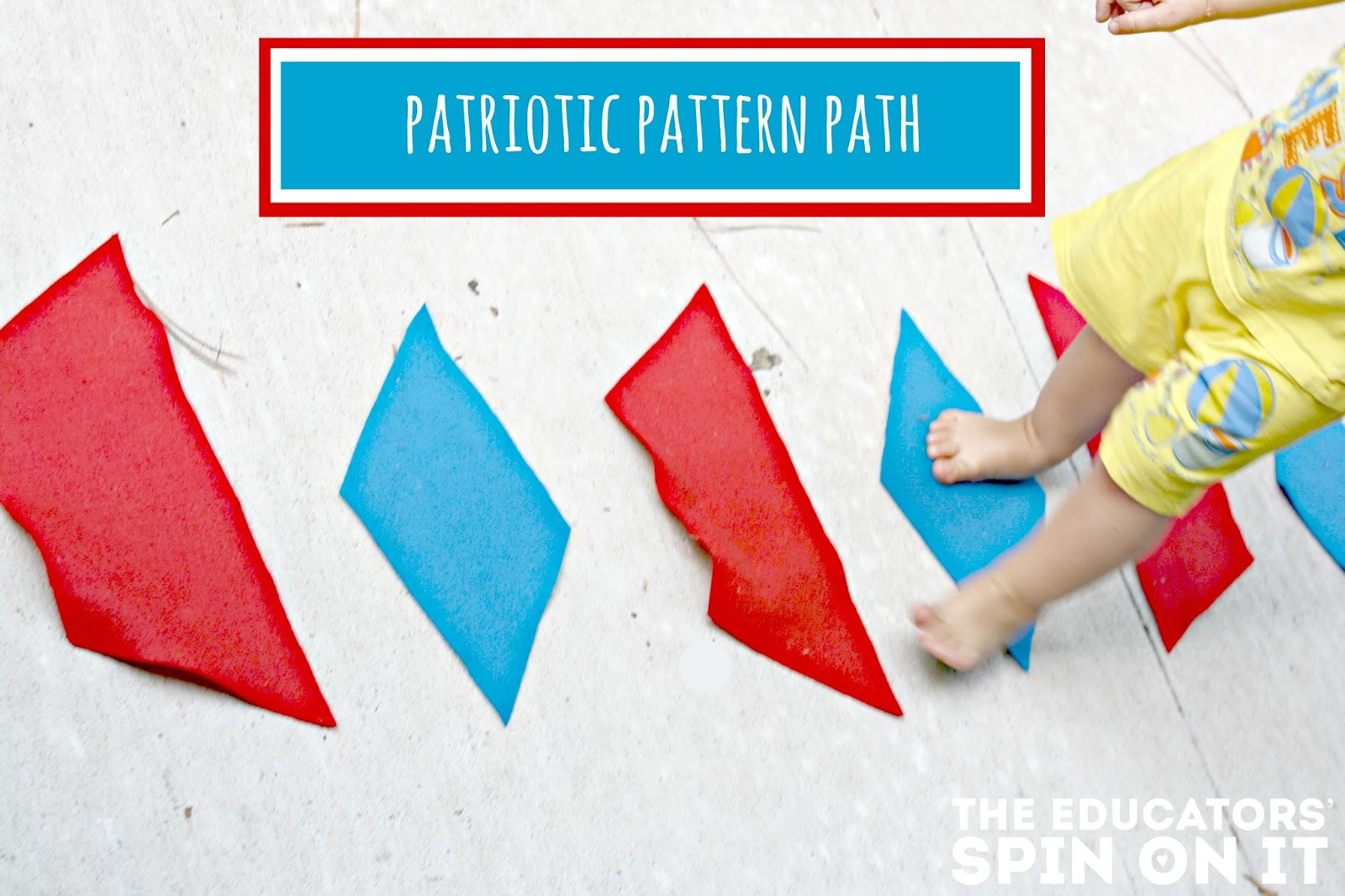 Patterning with Giant Pattern Blocks: Preschool Math and Movement