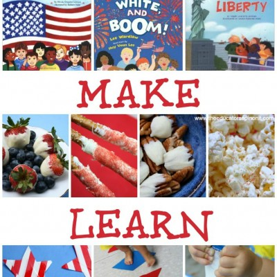 Patriotic Party Play Date: Read, Make, Learn