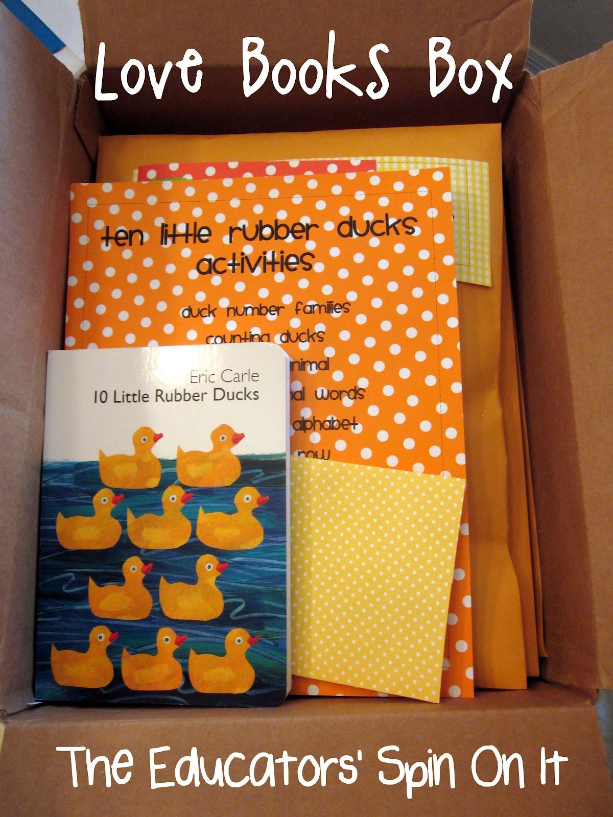 Ten Little Rubber Ducks Activities
