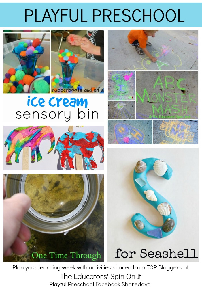 Playful Preschool weekly lesson plan for ages 3-5