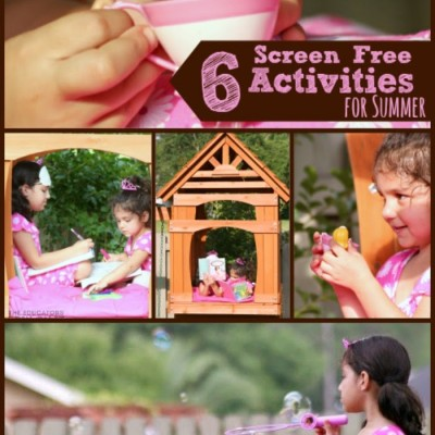 Screen Free Activities for Kids During the Summer