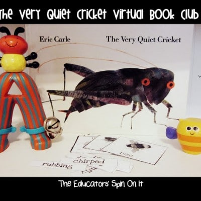 The Very Quiet Cricket Virtual Book Club Activities