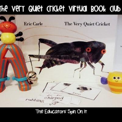 The Very Quiet Cricket Virtual Book Club Activities