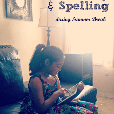 Vocabulary and Spelling Resource for Summer Learning