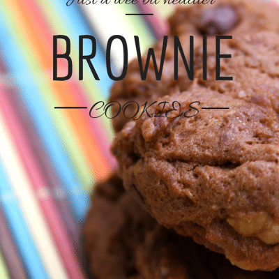 Healthier Brownie Cookie Recipe