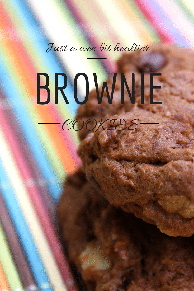 A healthier brownie cookie recipe