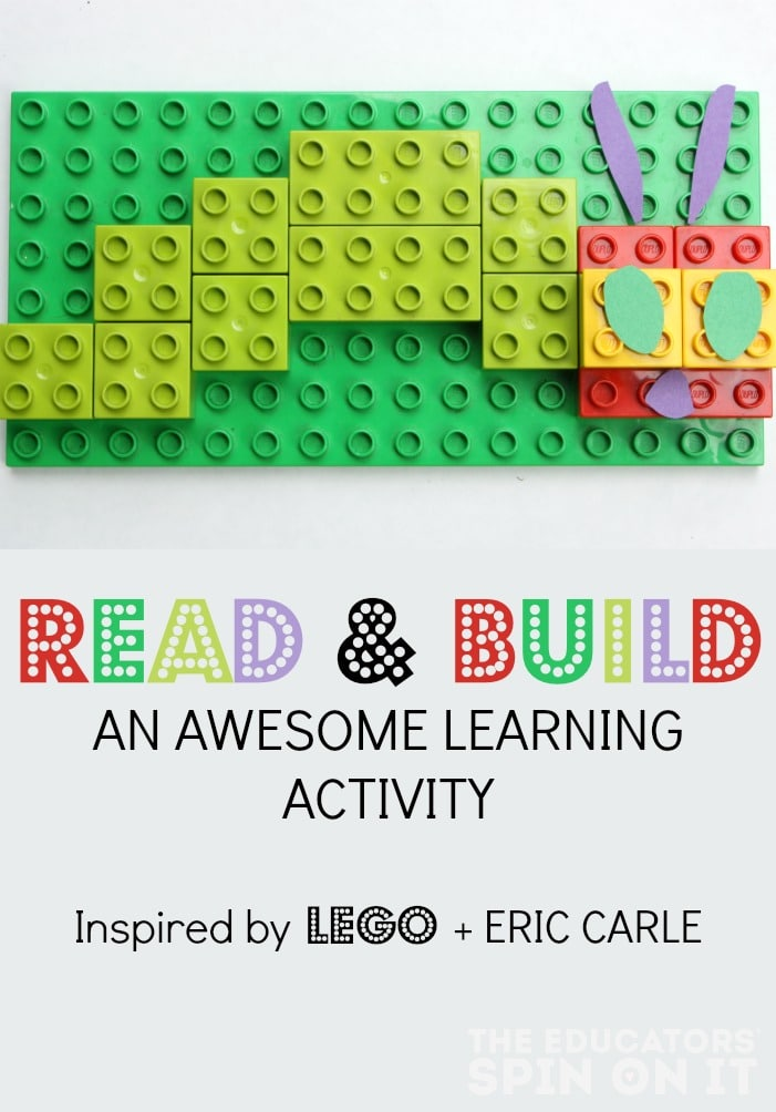 Eric Carle Story Retelling LEGO Activity