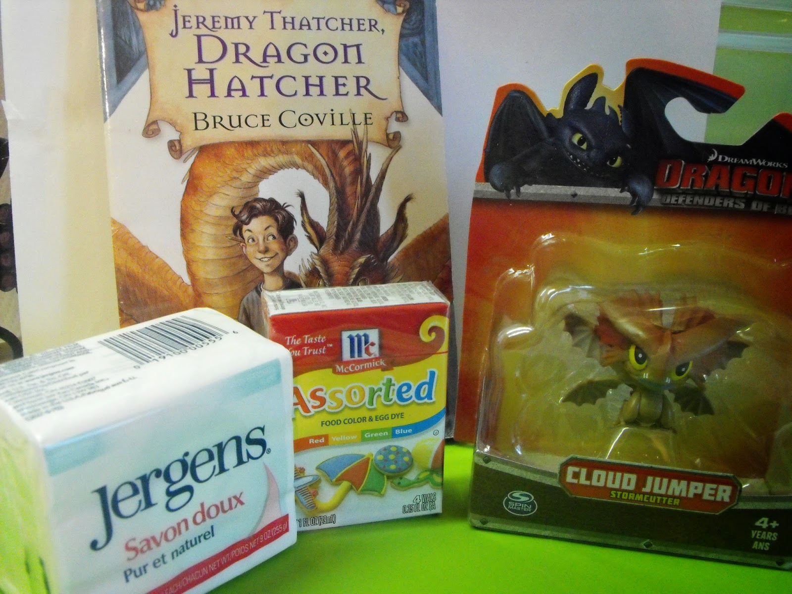 Jeremy Thatcher Dragon Hatcher Chapter Book and Activity Package