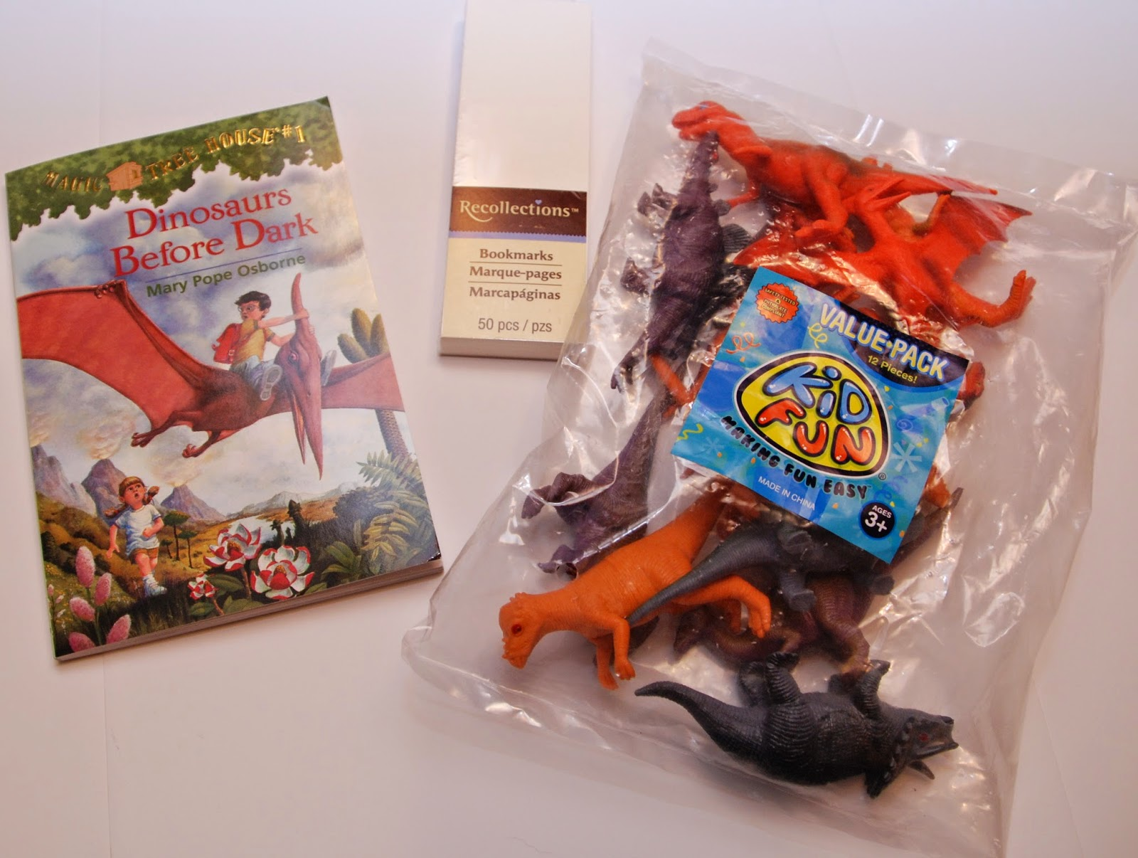 Dinosaurs Before Dark Chapter Book and Activity Package