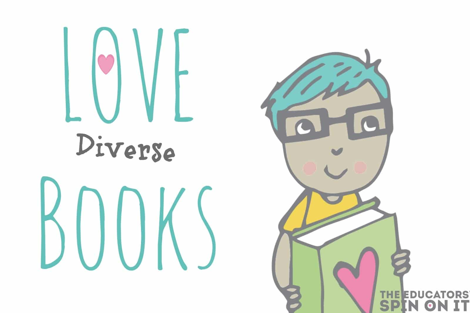 Love Diverse Books: Building a diverse bookshelf to explore the world from your own home.  Parenting culturally aware children