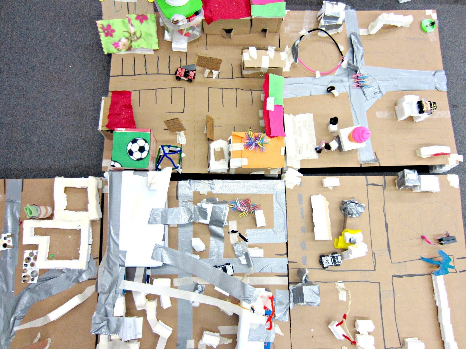 Get kids to think like an inventor by letting them build with recycled materials