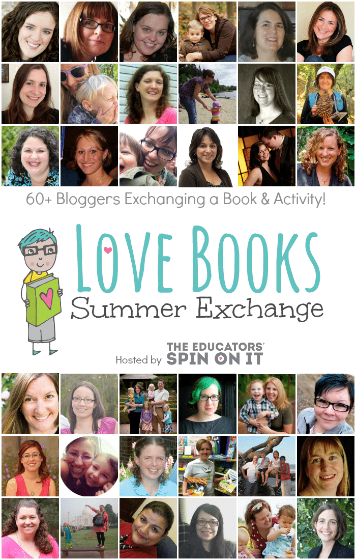 60 Books and Activities shared with Top Kid Bloggers in a Summer Book Exchange at The Educators' Spin On It