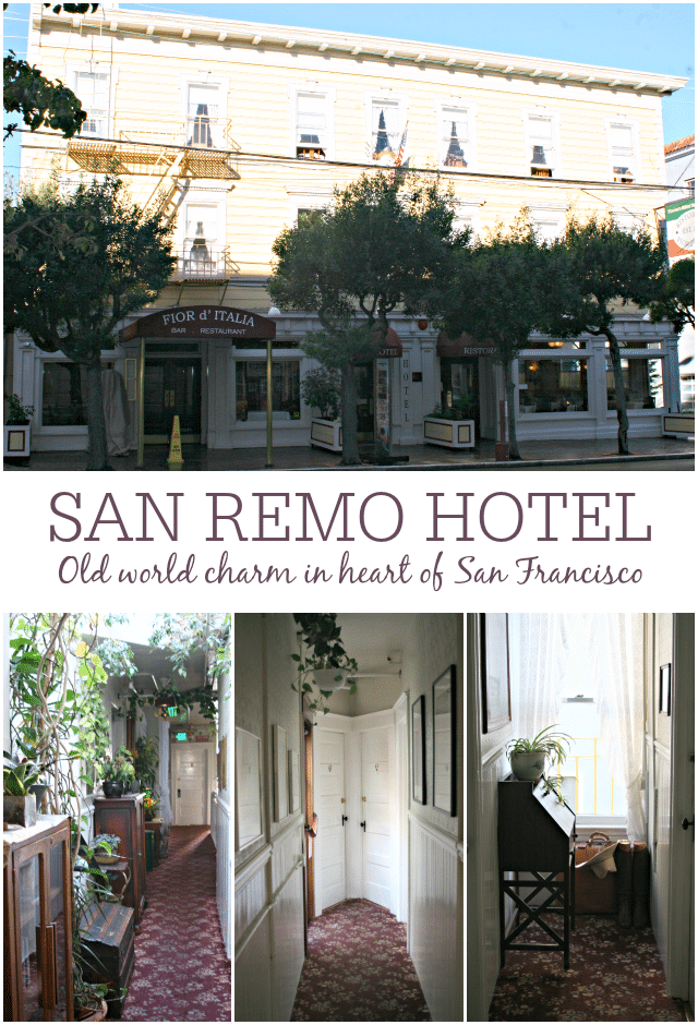San Remo Hotel in North Beach San Francisco California