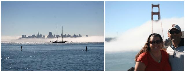 Views of San Francisco from Sausalito