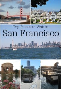Top Places to Visit in San Francisco from The Eduators' Spin On It