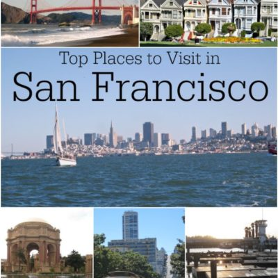 Top Places to Visit in San Francisco Bay Area