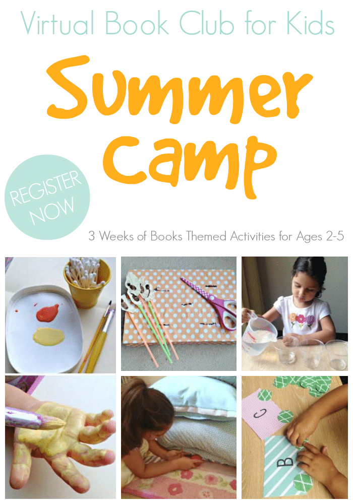 Virtual Book Club for Kids Summer Camp