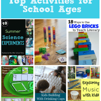 Top Activities for School Ages: After School Linky Party Week 28