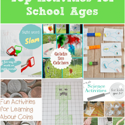 Top Activities for School Ages Week 29