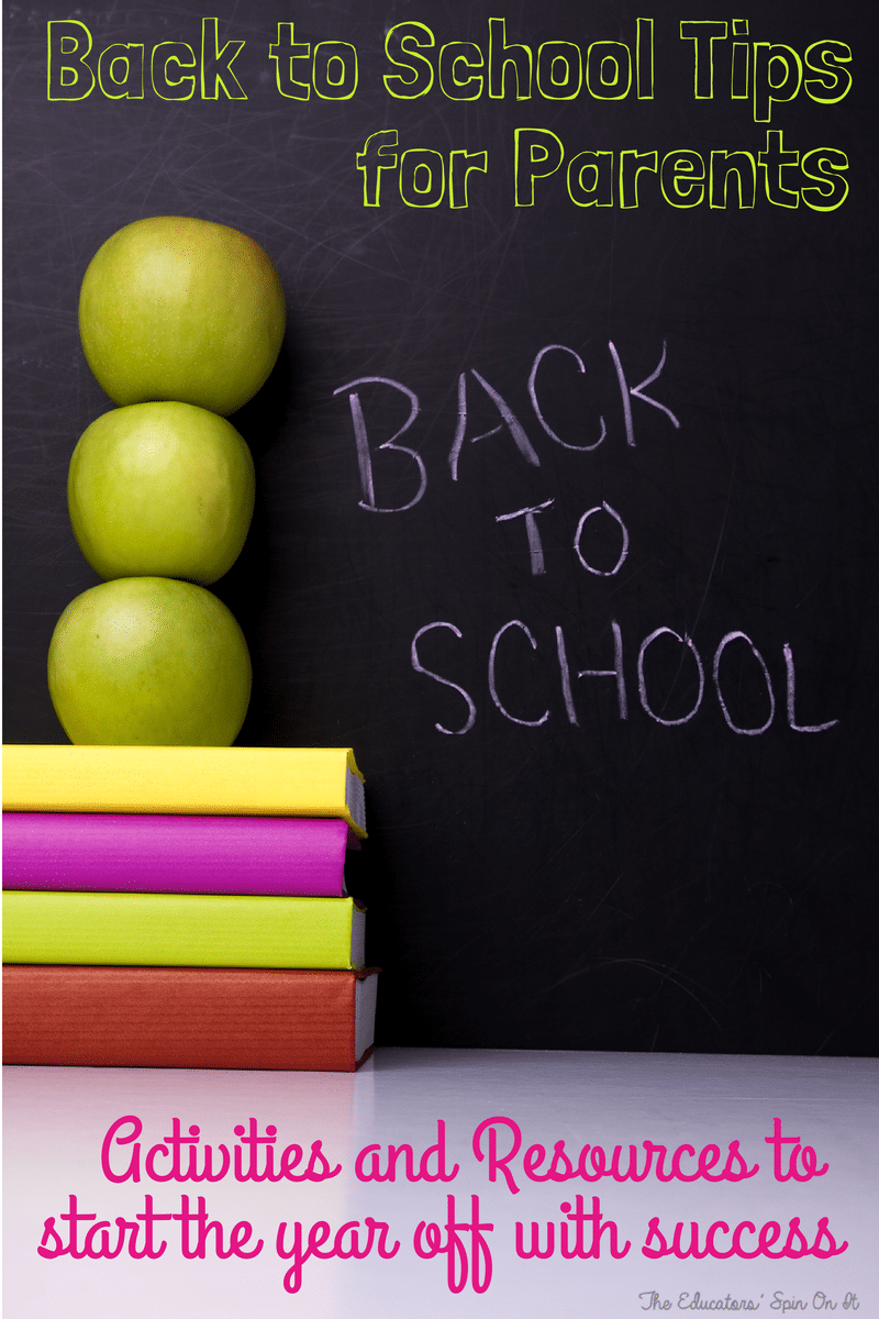 Back To School Resources For Parents