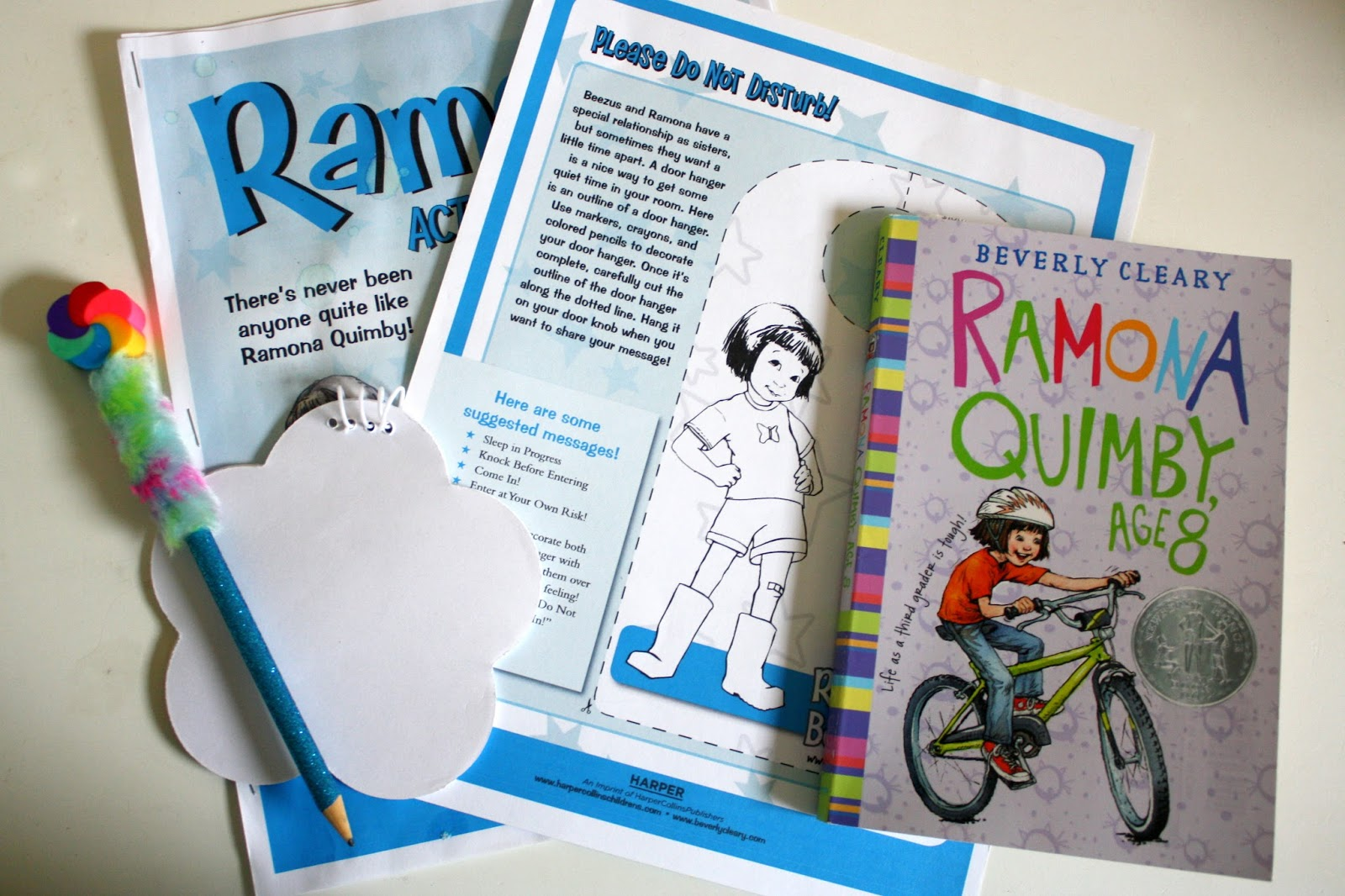 Ramona Quimby Age 8 Activity Ideas