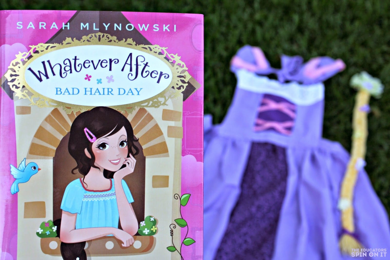 Whatever After Princess book and dress up activity package for grade school girl